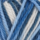 525 Multi hvit/blå