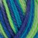 552 Multi blå/grønn